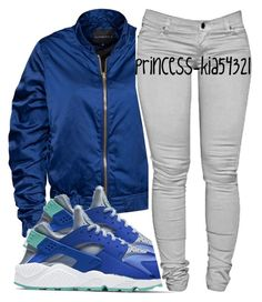 """""""*"""" by princess-kia54321 ❤ liked on Polyvore featuring Rut&Circle and NIKE"""