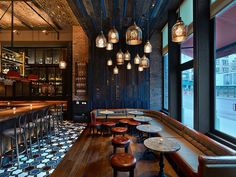Gato in Greenwich Village by Rockwell Group. Photography by Eric Laignel.