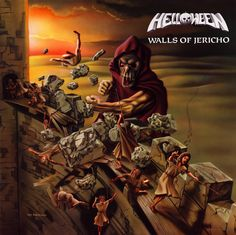 Helloween Walls of Jericho Malaysia Flag Expanded Edition 2 CD for sale online Rock Album Covers, Classic Album Covers, Arte Heavy Metal, Walls Of Jericho, Classic Rock Albums, Hair Metal Bands, Metal Albums, Power Metal, Great Albums
