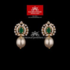 Ruby Necklace Designs, Jewelry Design Earrings, Gold Jewellery Design, Earrings With Price, Buy Earrings, Earrings Online, Gold Jewelry Simple, Diamond Earrings Indian, Diamond Jewelry