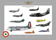 """""""ALI TRICOLORI"""" ITALIAN AIR FORCE . AERONAUTICA MILITARE ITALIANA """"ALI TRICOLORI"""" F-104S , G-91R, F-86K, F-86E, G-222, TORNADO IDS, T-6H, MB-236, MB-339A, ATLANTIC"""