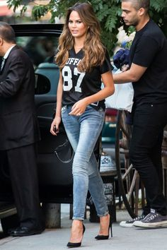 Chrissy in New York City on Oct. 16, 2014.