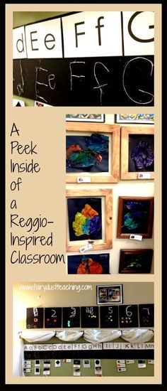 Get an inside peek at a Reggio-Inspired Classroom learning environment! From Fairy Dust Teaching