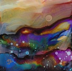 "june rollins art | Dreamscape No. 222"" - Original Fine Art for Sale - © June Rollins"