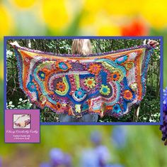 Boho Chic Shawl, Bohemian Shawl, Freeform Crochet, Handmade Wrap, Hippie Poncho, Boho Chic, Crochet Wrap, Festival Shawl, Freeform Shawl is womens handmade fashion by classycrochetbycathy. This crochet shawl/wrap is perfect for spring and summer -- and can be worn on all occasions with dress, jeans, pants or a skirt. All of my wraps are unique, one of a kind and ready to ship. Only one is available for one special person! One size fits most. Irregular in shape, the wrap /scarf can ...