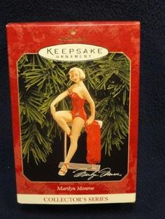 Hallmark Keepsake Ornament Marilyn Monroe Collector's Series 1999 $14.95
