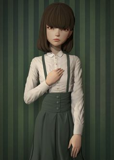 ArtStation - Quiet girl, metric 83