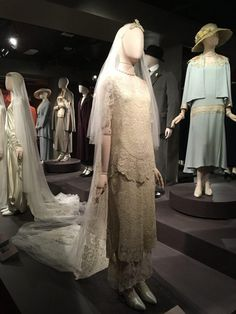 Downton Abbey Exhibition - Carrie Turansky Second Wedding Dresses, Second Weddings, Wedding Day, Downton Abbey Movie, Julian Fellowes, Lady Mary, Beautiful Costumes, New York Travel, Carrie