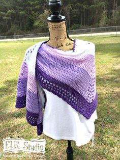 Southern Trails Shawl Week 3 http://www.elkstudiohandcraftedcrochetdesigns.com/southern-trails-shawl-week-3/?utm_campaign=coschedule&utm_source=pinterest&utm_medium=ELK%20Studio%20-%20Handcrafted%20Crochet%20Designs&utm_content=Southern%20Trails%20Shawl%20Week%203