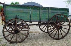 Horse Drawn Grain Wagon