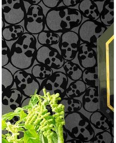www.grahambrown.com  Skulls Wallpaper by Barbara Hulanicki   In love love love with this
