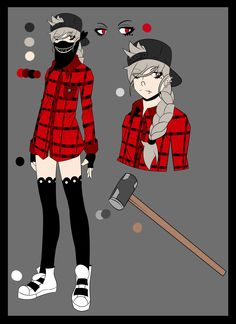 Creepypasta OC: Big A - Alice Jenkins by SaadCafe on DeviantArt Creepypasta Oc, Creepypasta Characters, Nurse Ann, Character Art, Character Design, I Have No Friends, Aesthetic Grunge Outfit, Oc Drawings, Mary Sue