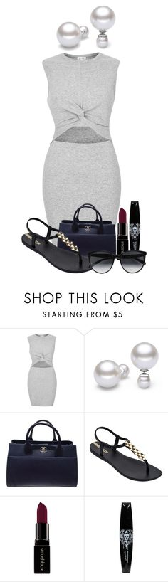 """Coffee date"" by huntress-383 ❤ liked on Polyvore featuring River Island, Chanel, IPANEMA, Smashbox, Hot Topic and CÉLINE"