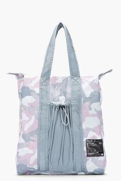DIESEL Pink & Grey Camo Fillit Litro Tote