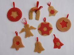 KreativníTechniky.cz - Vánoční ozdoby Advent, Origami, Crochet Earrings, Christmas Ornaments, Holiday Decor, Crafts, Home Decor, Winter, Projects