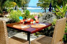 Photo of Oceans Restaurant & Bar Rarotonga Resorts, Ocean Restaurant, Outdoor Tables, Outdoor Decor, Cook Islands, Oceans, Trip Advisor, Outdoor Furniture Sets, Places To Visit
