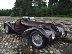 1938 Alpha Romeo, 6C-2300B. Mille Miglia Spyder.