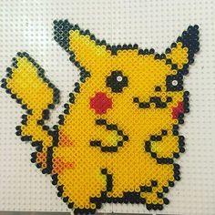 Pikachu perler beads by clarej89