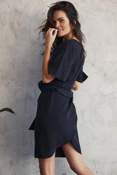 Two-piece wrap skirt — VETTA