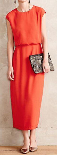 blouson midi dress  http://rstyle.me/n/paezmpdpe