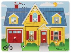 Wooden 158752: Melissa And Doug Sound Puzzle (Around The House) -> BUY IT NOW ONLY: $33.26 on eBay!