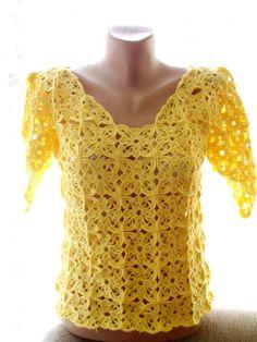 Crochet Patterns Mulheres Tapa do ganchillo, ropa de mujer de ganchillo, crochê verano tapa, tapa hecha . Beau Crochet, Pull Crochet, Bonnet Crochet, Mode Crochet, Crochet Girls, Crochet Woman, Crochet Lace, Crochet Bodycon Dresses, Black Crochet Dress