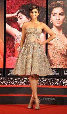 Golden girl Sonam Kapoor gears up for Cannes 2014