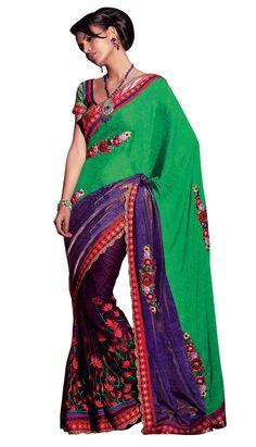 Bollywood Sari Pakistani New Wedding Ethnic Indian Designer Saree Partywear SC…