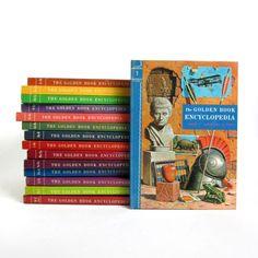 vintage childrens encyclopedia set