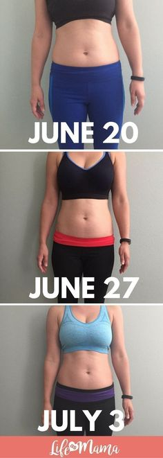 I started this ab workout 2 weeks ago and already see results. They are small, but they are there! Read this to get toned abs too.