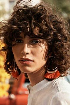 Curly Bob Hairstyles for Stylish Ladies You may think that bob hairstyle would look a little bit odd on curly hair, and prefer to sport longer hairstyles.