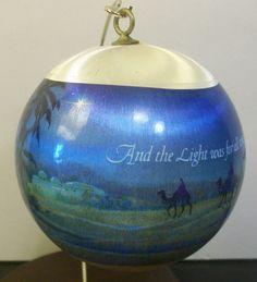Hallmark Keepsake Ornament Behold the Star 1979 Satin Shepherds 3 Wise Men