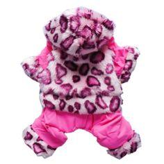 Luxury Leopard For Dog Clothes Dog Coat Warm « Pet Lovers Ads