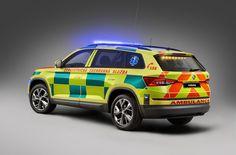 <p>Mladoboleslavská Škoda Auto oficiálně představila model Kodiaq v provedení pro rendez-vous systém zdravotnických záchranných služeb.</p>