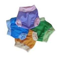hu-da PUL-Schlupfüberhose mit Fleecebündchen Cloth Pads, Family Outfits, Trainers, Trunks, Baby, Swimming, Sewing, Swimwear, Clothes