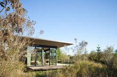 Olson Kundig Architects - False Bay Writer's Cabin, San Juan Islands, WA - photo by Tim Bies