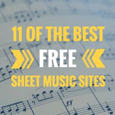 11 of the Best Free Sheet Music Sites