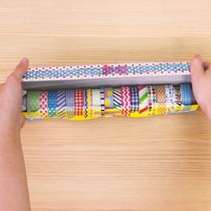 Diy And Crafts, Crafts For Kids, Picts, Diy Videos, Washi Tape, Home Organization, Life Hacks, Kids Room, Wraps