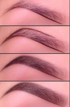 The perfect brow fill-in