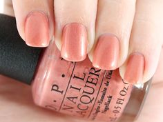 OPI Nail Lacquer in Hands Off My Kielbasa!