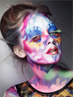 This really caught my eye. It is a mix between  Día de los Muertos and a jigsaw puzzle in my mind.