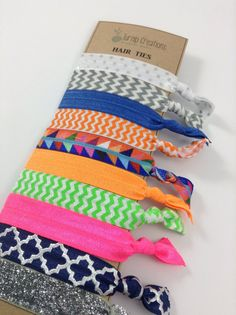 These fabulous hair ties are great to keep up with your Ever Changing Style!    These FOE Hair Ties are perfect hair accessories for pulling back your