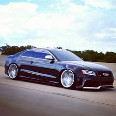 New CV5 with the Audi S5. lowered and lip. nuff' said!
