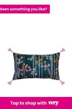 Sara Miller Linear Bamboo Cushion