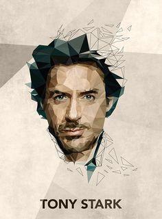 ILLUSTRATION | Tony Stark on Behance