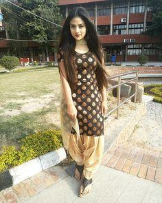 Image may contain: 1 person, standi ng and outdoor Patiala Dress, Salwar Kameez, Patiala Suit, Salwar Suits, Stylish Dresses, Nice Dresses, Girls Dresses, Stylish Girls Photos, Stylish Girl Pic