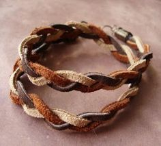 How To Make Leather Jewelry Tutorials - The Beading Gems Journal