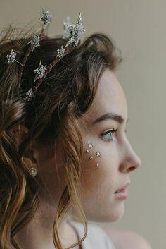 decorative star headband; hair bling