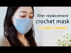 ENG) crochet mask tutorial english subtitles_filter replacementRight now we intend to be able to crochet Any Experience Cover up Along with Filter. Crochet Mask, Crochet Faces, Crochet Gratis, Free Crochet, Crochet Ripple, Free Knitting, Crochet Designs, Crochet Patterns, Mascara Tutorial