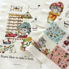 Cotton Linen Fabric Cloth DIY Cloth Art Manual by JolinTsai, $7.20